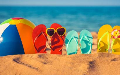 Summer-time-flip-flops-and-beach-ball